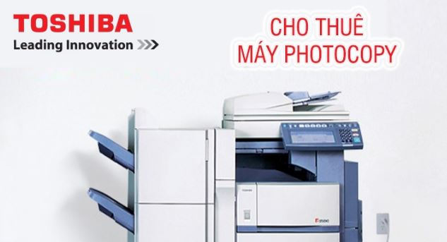 Cho thue may photocopy toshiba