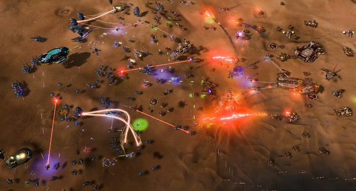 Game ASHES OF THE SINGULARITY thú vị
